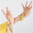 cheap Dance Accessories-Belly Dance Dance Glove Women's Performance Metal Sequin Bracelets
