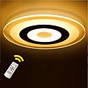 billige Planmonterede Lys-KAKAXI Takmonteret Baggrundsbelysning - Dæmpbar, LED, Dimbar med fjernbetjening, 220-240V LED lyskilde inkluderet / 10-15㎡
