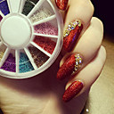 cheap Rhinestone & Decorations-Pearls Glitters / Flower / Neon & Bright Daily Nail Art Design / Alloy