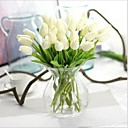 cheap Artificial Plants-Artificial Flowers 10 Branch Modern Style Tulips Tabletop Flower