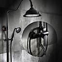 preiswerte Duscharmaturen-Duscharmaturen - Antike Öl-riebe Bronze Mittellage Keramisches Ventil