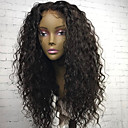 cheap Pendant Lights-Virgin Human Hair Lace Front Wig Brazilian Hair Curly Wig With Baby Hair 130% 8-22 inch Natural Hairline / For Black Women / 100% Hand Tied Natural Black Women's Short / Medium Length / Long Human
