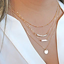 cheap Bracelets-Women's Pearl Layered Chain Necklace / Layered Necklace / Pearl Necklace - Pearl Personalized, Fashion, Multi Layer Necklace For Christmas Gifts, Party, Daily