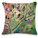 cheap Pillow Covers-1 pcs Linen Pillow Case, Animal Modern / Contemporary