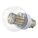 رخيصةأون خوذات الدراجات النارية-1PC 6 W 500 lm B22 أضواء LED ذرة 69 الخرز LED SMD 5730 أبيض دافئ / أبيض كول 10-60 V / قطعة / بنفايات