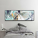 cheap Rolled Canvas Prints-Rolled Canvas Prints Abstract Modern, One Panel Horizontal Print Wall Decor Home Decoration