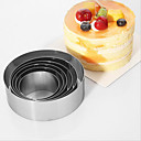 cheap Bakeware-Bakeware tools Stainless Steel Eco-friendly / Nonstick / Holiday For Cake Mold 1set