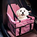 abordables Básicos de Viaje para Perros-Gato Perro Cobertor de Asiento Para Coche Paquete de perro Mascotas Portadores Portátil Doble Lado Transpirable Plegable Masaje Suave