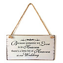 cheap Party Supplies-Ornaments Wood 1 Valentine's Day / Classic Theme
