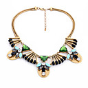 cheap Necklaces-Women's Statement Necklaces Geometric Chrome Unique Design Euramerican Black Jewelry For Casual Christmas Gifts 1pc