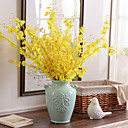 cheap Artificial Flower-Artificial Flowers 10 Branch Modern Style Orchids Tabletop Flower