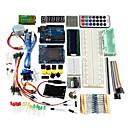 billige Displayer-Uno r3 grunnleggende startopplæring kit oppgraderingsversjon for arduino