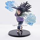 tanie Figurki Anime-Figurki Anime Zainspirowany przez Naruto Hinata Hyuga Polichlorek winylu CM Klocki Lalka Zabawka
