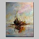 זול ציורי נוף-ציור שמן צבוע-Hang מצויר ביד - L ו-scape מודרני סגנון ארופאי כלול מסגרת פנימית