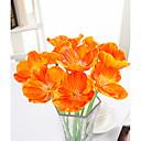 رخيصةأون ملصقات الحائط-زهور اصطناعية 10 فرع الحديث الزهور الخالدة أزهار الطاولة