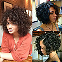 cheap Human Hair Wigs-premier short curly wigs 8a curly explosion head wig virgin human hair lace front wig natural color unprocessed virgin brazilian hair wigs