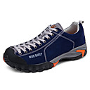 cheap Footwear & Accessories-Men's Sneakers / Hiking Shoes / Mountaineer Shoes Rubber Hiking / Climbing / Backcountry Waterproof, Anti-Slip, Anti-Shake / Damping Rubber / Nubuck leather / Leather Blue