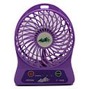 baratos Ventilador-Sem Fio Charging small fan Preta Azul Rosa Roxa