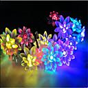 זול חוט נורות לד-10מ' חוטי תאורה 100 נוריות Dip Led לבן חם / RGB / לבן עמיד במים 220 V
