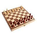 baratos Jogos de xadrez-Jogo de Xadrez Dobrável 1 pcs Para Meninos Para Meninas Brinquedos Dom