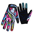 cheap Hiking Trousers & Shorts-QEPAE Bike Gloves / Cycling Gloves Breathable Anti-Slip Sweat-wicking Protective Sports Gloves Winter Mountain Bike MTB Rainbow for Adults' Outdoor