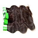 cheap Unprocessed Hair-Human Hair Remy Weaves Body Wave Indian Hair 300 g 6 Months