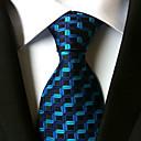 זול אביזרים לגברים-עניבת צווארון - פסים עבודה / יום יומי / פסים בגדי ריקוד גברים