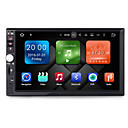 cheap Car DVD Players-7inch 2 DIN Android6.0 AVI / MPEG4 / Mp3 Built-in Bluetooth / GPS / RDS for Universal Support / Steering Wheel Control / 3G (WCDMA)