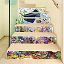 povoljno Zidne naljepnice-Životinje Zid Naljepnice 3D zidne naljepnice Dekorativne zidne naljepnice,Vinil Materijal Početna Dekoracija Zid preslikača