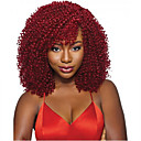cheap Synthetic Capless Wigs-top quality red afro kinky curly wigs for black women heat resistant synthetic hair highlight hairstyles