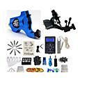 זול מכונות קעקועים-BaseKey מכונת קעקוע ערכת קעקוע מקצועי - 2 pcs מכונה קעקוע LCD ספק כוח כולל מארז 2 x מכונת קעקועים לתיחום והצללה מסתובבת