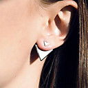cheap Earrings-Women's Stud Earrings - European, Simple Style, Fashion Silver / Golden For Daily / Casual / Office & Career