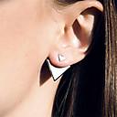 preiswerte Modische Ohrringe-Damen Ohrstecker - Europäisch, Simple Style, Modisch Silber / Golden Für Alltag / Normal / Büro & Karriere