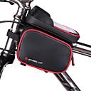 billige Cykeltasker-Mobiltelefonetui / Taske til stangen på cyklen 5 inch Touch Screen, Vandtæt Cykling for iPhone 8/7/6S/6 / Vandtæt Lynlås