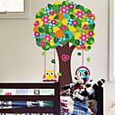 preiswerte Wand-Sticker-Tiere Botanisch Cartoon Design Wand-Sticker Flugzeug-Wand Sticker Dekorative Wand Sticker, Vinyl Haus Dekoration Wandtattoo Wand Glas /