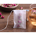 cheap Coffee and Tea-100Pcs/Lot Teabags 5.5 X 7Cm Empty Scented Tea Bags With String Heal Seal Filter Paper For Herb Loose Tea