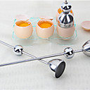 abordables Utensilios para huevos-Herramientas de cocina Acero inoxidable Cocina creativa Gadget Utensilios especiales Para utensilios de cocina 1pc