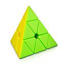 baratos Cubos de Rubik-Rubik's Cube MoYu Pyramid 3*3*3 Cubo Macio de Velocidade Cubos mágicos Brinquedo Educativo Antiestresse Cubo Mágico Adesivo Liso Dom