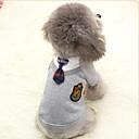 abordables Ropa para Perro-Abrigos Sudadera Mono Ropa para Perro Británico Gris Rosa Disfraz Para mascotas Hombre Mujer Bonito Casual/Diario Cosplay Deportes