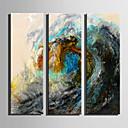 baratos Impressões-Estampado Laminado Impressão De Canvas - Paisagem Modern 3 Painéis