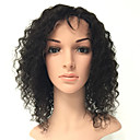cheap Human Hair Wigs-Human Hair Full Lace Wig Curly Wig 130% Natural Hairline / African American Wig / 100% Hand Tied Women's Medium Length / Long Human Hair Lace Wig