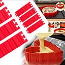 abordables Accesorios de Aseo para Perro-Herramientas para hornear Gel de Sílice Herramienta para hornear para la torta Moldes para pasteles 1pc