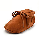 cheap Baby Shoes-Girls' Shoes Microfiber Summer / Fall First Walkers Loafers & Slip-Ons Tassel for Kid's Pink / Camel / Khaki / Party & Evening