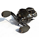 cheap Fishing Reels-Baitcasting Reel 7:2:1 Gear Ratio+18 Ball Bearings Right-handed Sea Fishing - CT