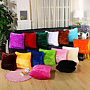 cheap Pillow Covers-1 pcs Velvet Pillow Cover / Pillow Case, Solid Colored / Novelty Casual / Modern / Contemporary / Retro