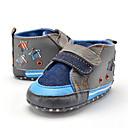 baratos Sapatos de Bebês-Para Meninos Sapatos Tecido Primavera Primeiros Passos Mocassins e Slip-Ons Combinação para Crianças Azul / Festas & Noite
