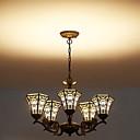 baratos Acessórios de Torneira-5-luz Luzes Pingente Luz Superior - Fosco, 110-120V / 220-240V, Branco Quente, Lâmpada Incluída / 5-10㎡