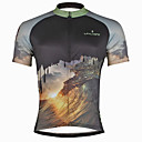 cheap Wall Stickers-ILPALADINO Men's Short Sleeve Cycling Jersey Skull Bike Jersey, Quick Dry, Ultraviolet Resistant, Sweat-wicking Polyester, Coolmax®