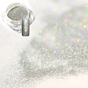 billige Christmas Nail Art-1pc Akrylpulver / Pudder / Glitter Powder Elegant & Luksuriøs / Glitrende / Nail Glitter Nail Art Design