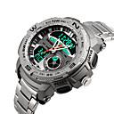 baratos Smartwatches-Relógio inteligente YYSKMEI1121 para Suspensão Longa / Impermeável / Multifunções / Esportivo Cronómetro / Relogio Despertador / Cronógrafo / Calendário / Dois Fusos Horários